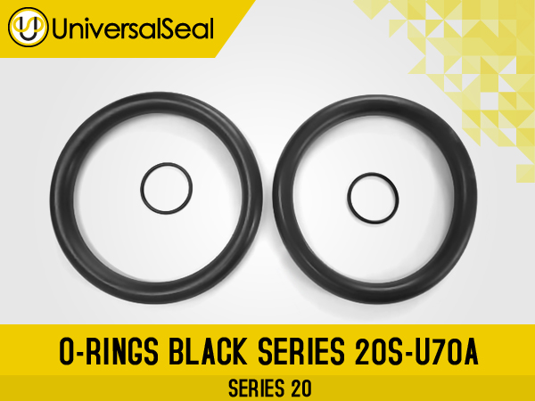 O-Rings Black Series 20S-U70A - Products Universal Seal Inc.